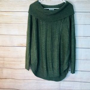 Hampshire studio cowl neck sweater top sz 1X